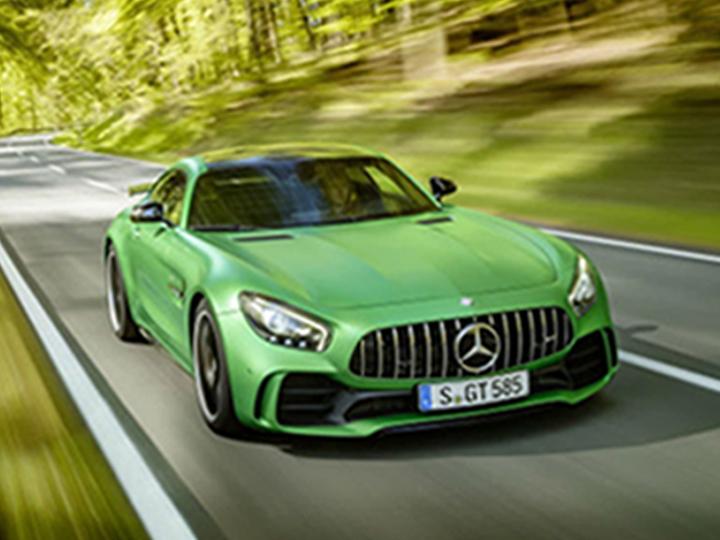 Mercedes AMG GT - 3